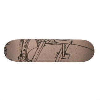 Diseño de una máquina para las lentes de pulido tablas de patinar