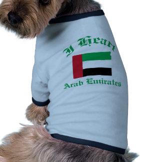 Diseño de United Arab Emirates Camisetas De Perro