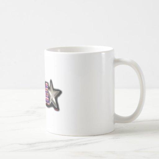 Diseño de ValxArt Demócrata los E.E.U.U. Taza De Café
