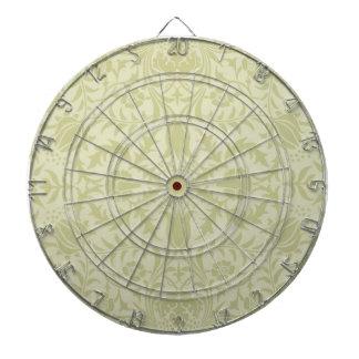 Diseño de William Morris del remolino de la flor d Tabla Dardos