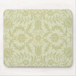 Diseño de William Morris del vintage del papel pin Tapete De Ratones