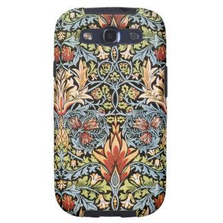 Diseño de William Morris Snakeshead Samsung Galaxy S3 Fundas