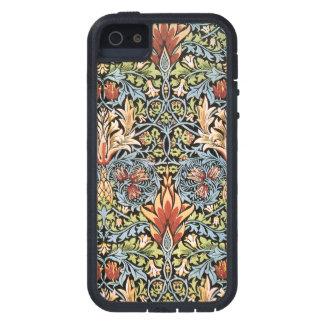 Diseño de William Morris Snakeshead iPhone 5 Carcasa