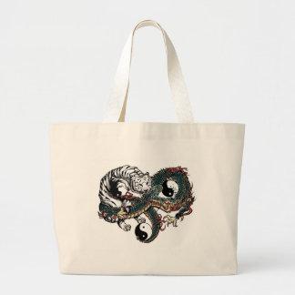 Diseño de Yin Yang Bolsa De Mano