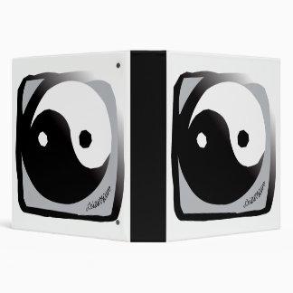 """Diseño de Yin Yang del Taoist Carpeta 1 1/2"""""""