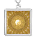 Diseño de Yin Yang Lotus Colgantes