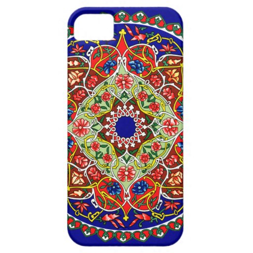 Diseño decorativo del vintage iPhone 5 Case-Mate protectores