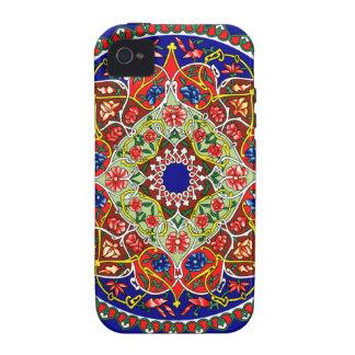 Diseño decorativo del vintage iPhone 4/4S carcasas