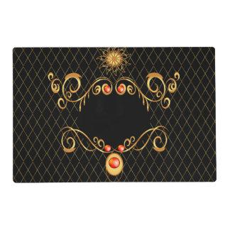 Diseño decorativo, elegante salvamanteles