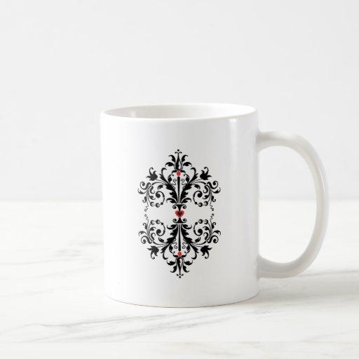 Diseño decorativo taza