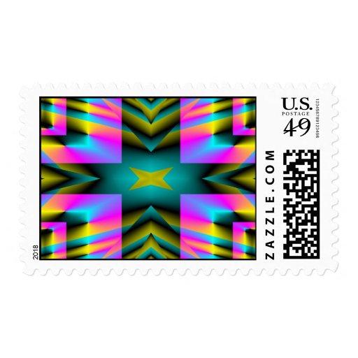 Diseño deformado tela escocesa del arco iris envio