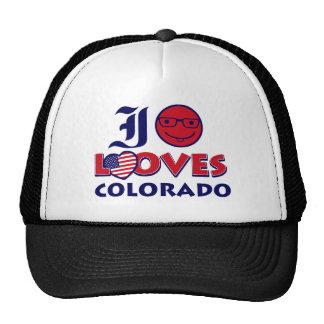 diseño del amante de Colorado Gorro