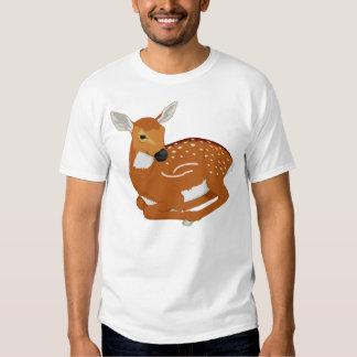 Diseño del amante de los ciervos polera