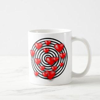 diseño del amor 3D Taza De Café