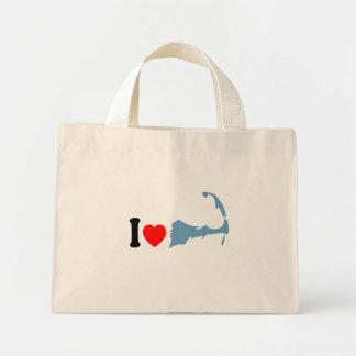 Diseño del amor de Cape Cod Bolsa