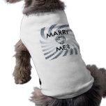 Diseño del amor del corazón camiseta de perro