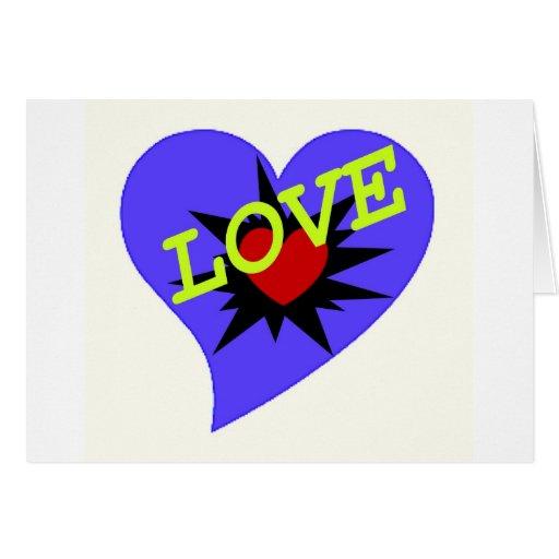 ¡Diseño del amor en las camisetas, Giofts y más! Tarjetas