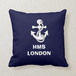 Diseño del ancla, HMS LONDRES Cojín