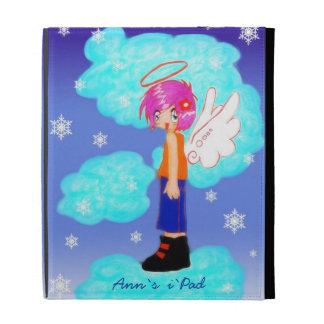 diseño del ángel de la nieve