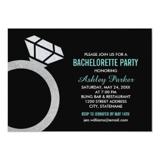 Diseño del anillo de la invitación el | del fiesta