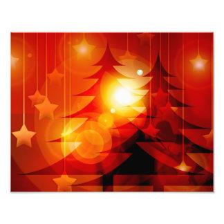 Diseño del árbol de navidad del día de fiesta arte fotográfico