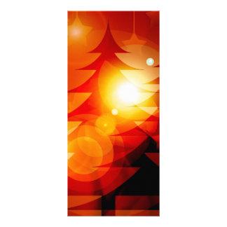 Diseño del árbol de navidad del día de fiesta tarjetas publicitarias