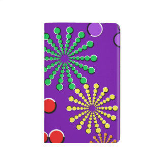 Diseño del arco iris de la ilusión óptica de los f cuadernos