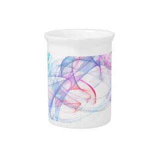 diseño del arte abstracto jarras para bebida
