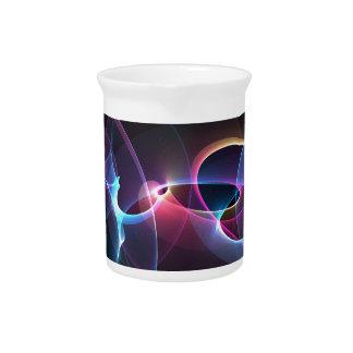 diseño del arte abstracto jarras