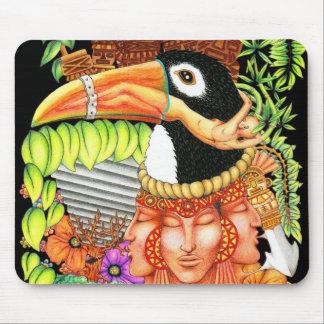 Diseño del arte de la fantasía de Toucan Tapete De Raton