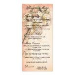 diseño del arte de las flores del lirio en el boda tarjeta publicitaria personalizada