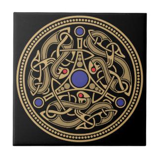 Diseño del arte de Viking Azulejo Ceramica