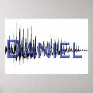 Diseño del arte gráfico de Daniel Sononome Posters