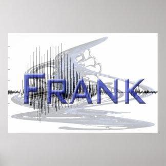 Diseño del arte gráfico de Frank Sononome Impresiones