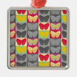 Diseño del arte pop de la mariposa - 4 adorno