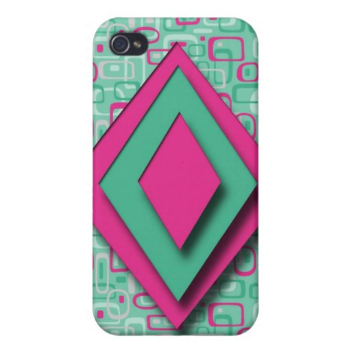diseño del arte pop del iphone iPhone 4/4S carcasas