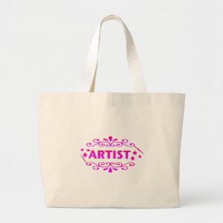 Diseño del artista bolsa