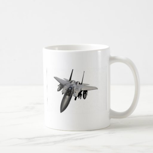 Diseño del avión de combate taza