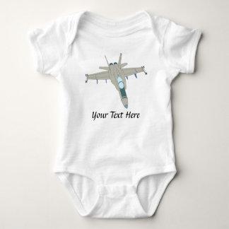 Diseño del avispón de la caza a reacción F18 Body Para Bebé