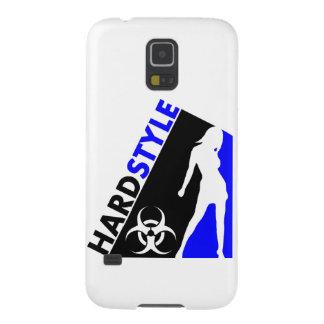 Diseño del bailarín y del Biohazard de Hardstyle Funda Galaxy S5