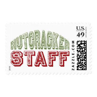 Diseño del ballet del navidad del personal del sellos