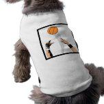 diseño del baloncesto de la bola de salto prenda mascota