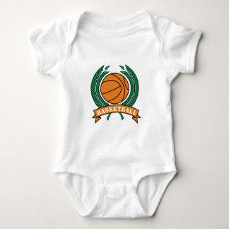diseño del baloncesto de los laureles body para bebé