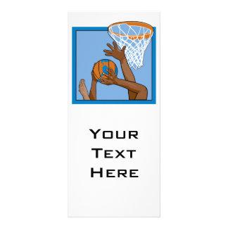 diseño del baloncesto del mundo plantilla de lona