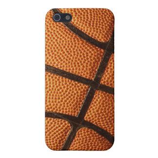 Diseño del baloncesto iPhone 5 fundas