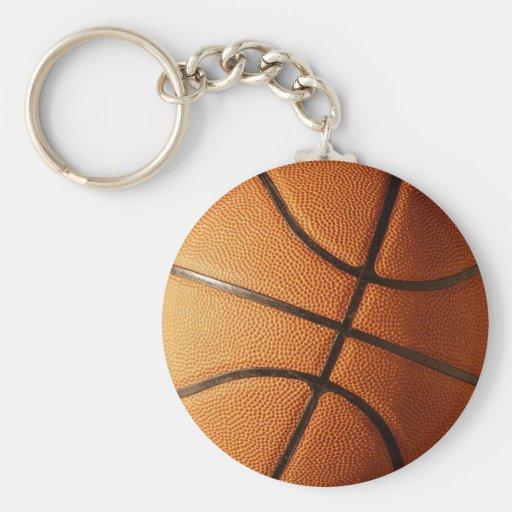 Diseño del baloncesto llaveros
