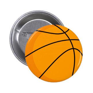 Diseño del baloncesto pin redondo 5 cm