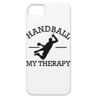 diseño del balonmano iPhone 5 protectores