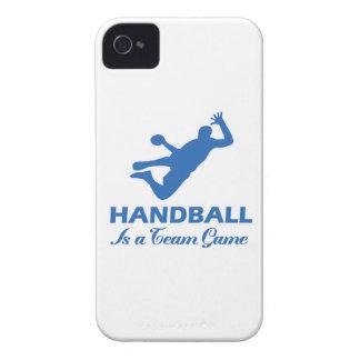 diseño del balonmano iPhone 4 Case-Mate funda