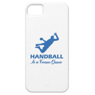 diseño del balonmano iPhone 5 protector